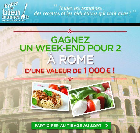 Concours Envie de bien manger.fr